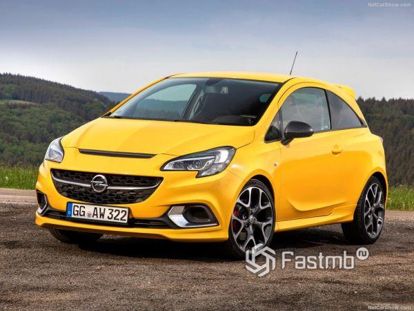 Opel Corsa GSi 2019: «подогретая» версия хэтчбек