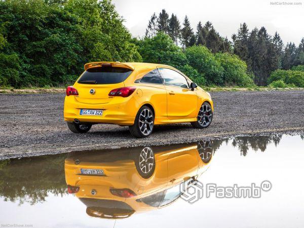Системы безопасности новой Opel Corsa GSi