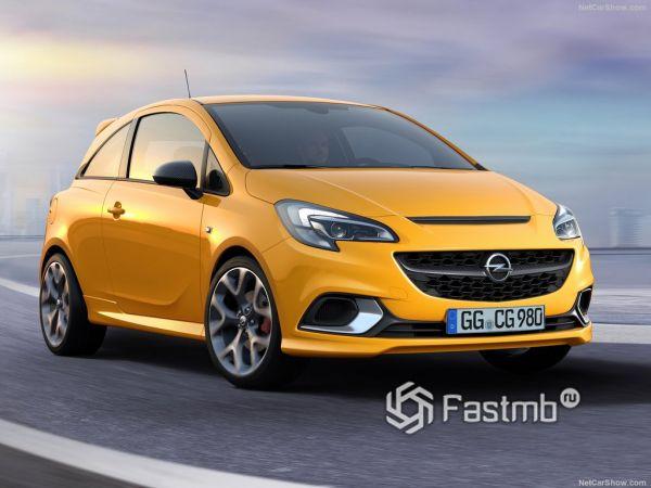 Технические характеристики  Opel Corsa GSi 2019