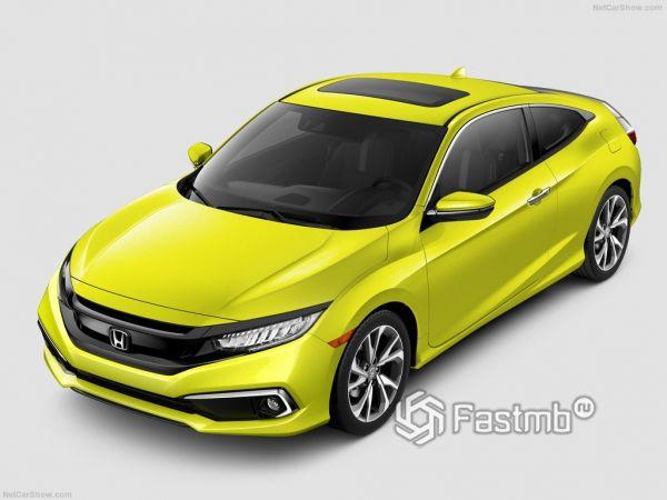 Внешний облик Honda Civic Coupe