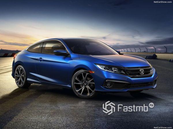 Системы безопасности новой Honda Civic Coupe
