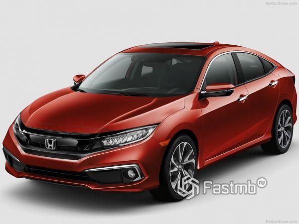 Технические характеристики Honda Civic Sedan 2019