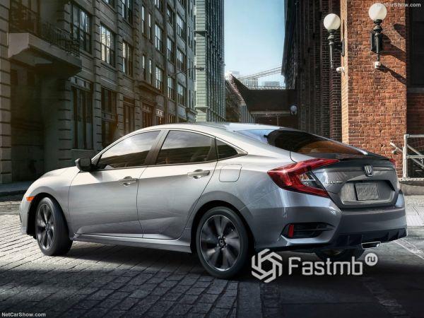 Комплекс безопасности новой Honda Civic Sedan