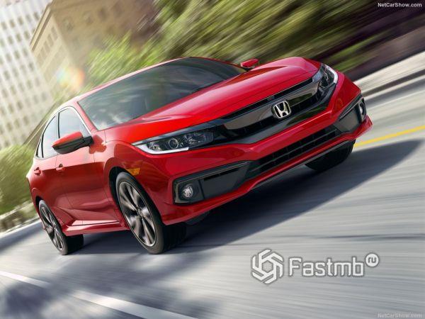 Honda Civic Sedan 2019: плановая модернизация модели