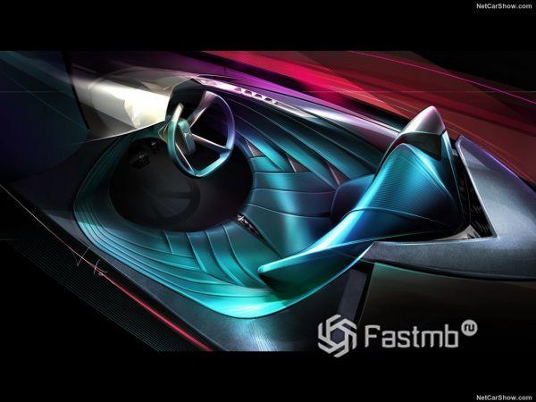 Экстерьер и интерьер DS X E-Tense Concept, салон