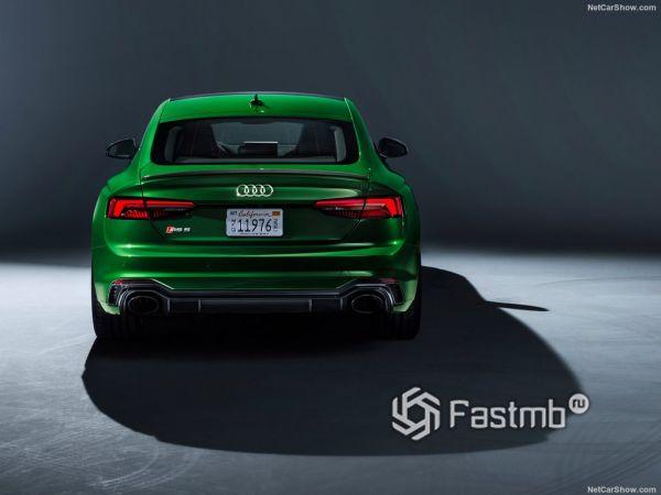 Audi RS5 Sportback 2019, вид сзади