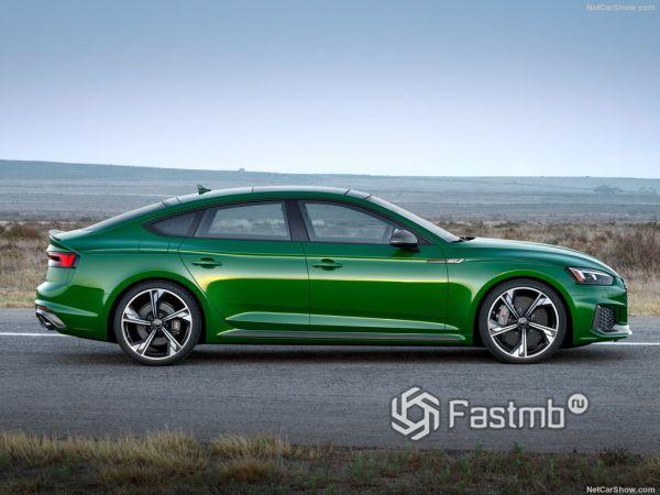 Безопасность нового Audi RS5 Sportback