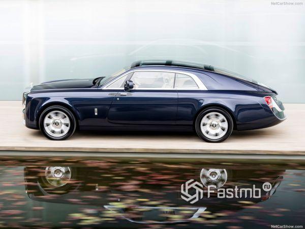 Технические характеристики Rolls-Royce Sweptail 2017-2018