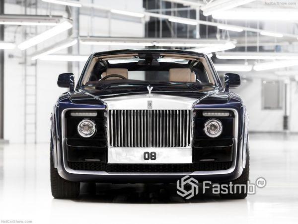Внешний облик Rolls-Royce Sweptail