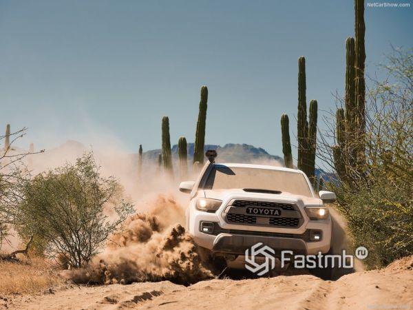 Системы безопасности новой Toyota Tacoma TRD Pro