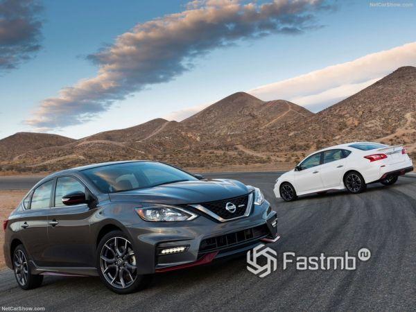 Nissan Sentra Nismo 2017-2018: «подогретая» версия седана