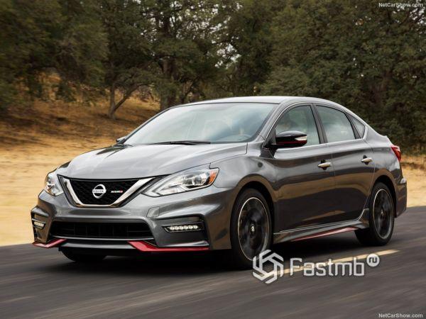Системы безопасности нового Nissan Sentra Nismo