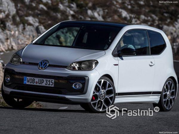 Системы безопасности нового Volkswagen Up GTI