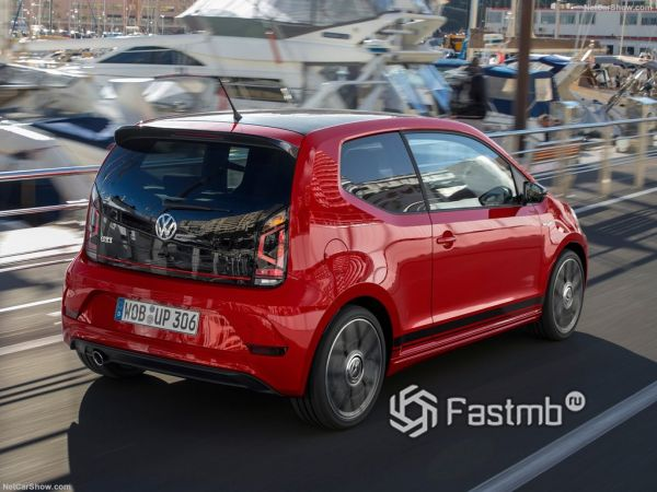 Внешний облик VW Up GTI