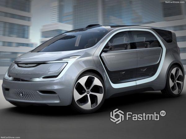 Chrysler Portal Concept 2017-2018: электрический минивэн будущего