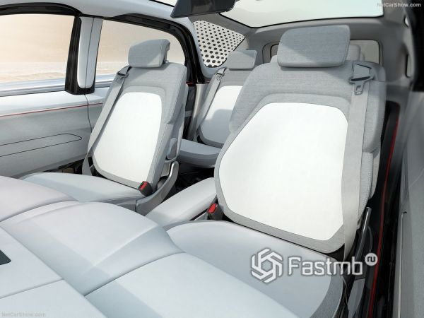 Chrysler Portal Concept 2017-2018, задние сидения