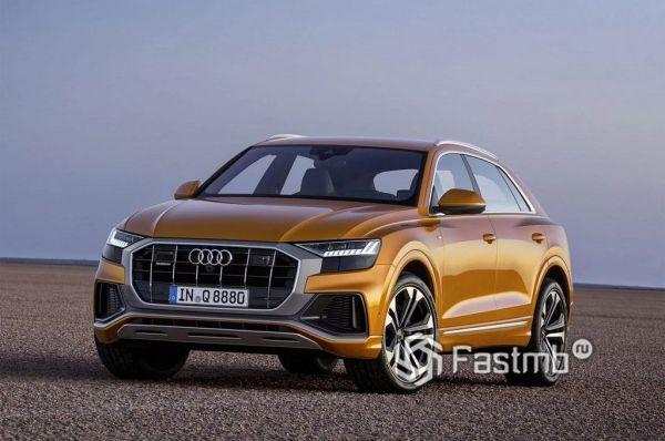 Audi Q8 2018-2019