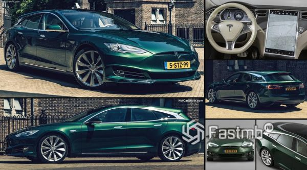 Tesla Model S Shooting Brake 2018-2019