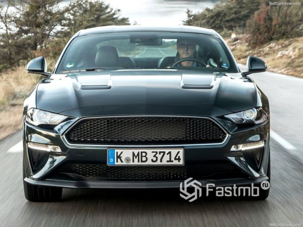 Ford Mustang Bullitt 2019, вид спереди