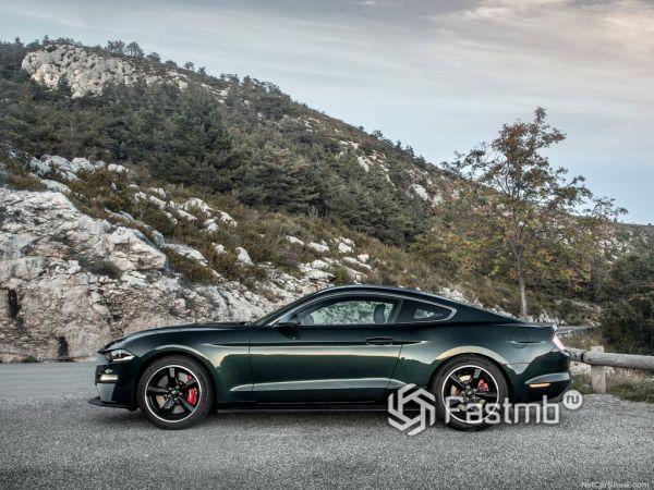 Безопасность нового Ford Mustang Bullitt