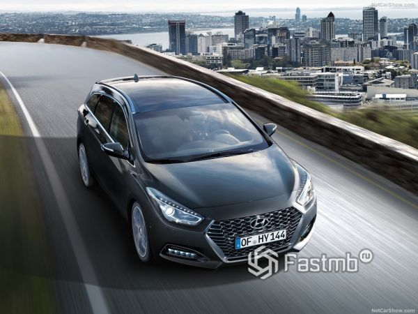 Внешний облик Hyundai i40 Wagon