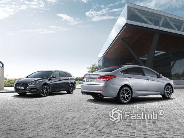 Hyundai i40 Wagon 2019: коктейль стиля и универсальности