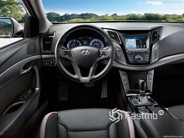 Внутреннее оформление нового Hyundai