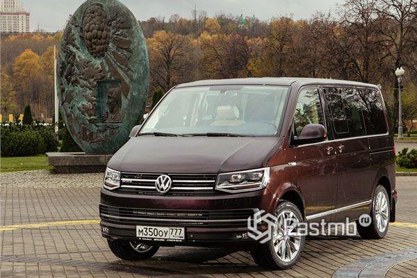 Роскошный минивэн Volkswagen Multivan 2018