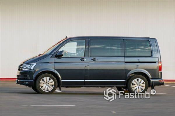 Volkswagen Multivan 2018, вид сбоку
