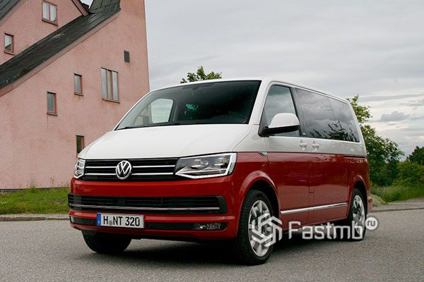 Цена нового Volkswagen Multivan