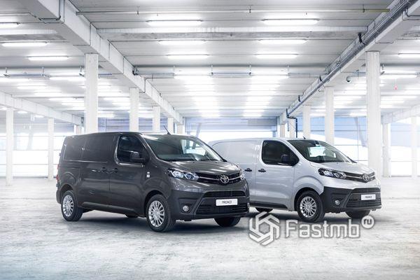 Фургоны Toyota Proace 2018