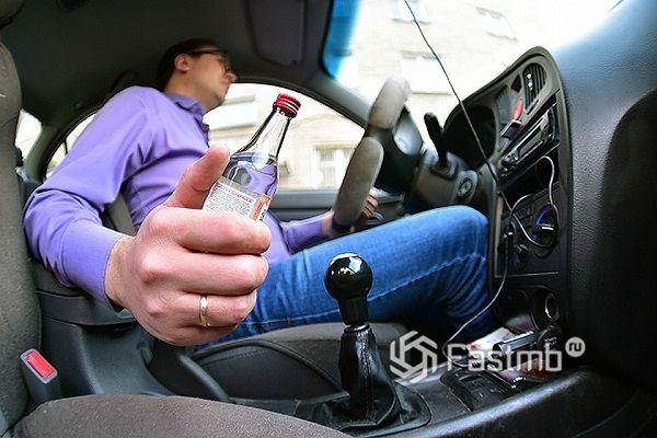 Попался пьяный за рулём впервые штраф или лишение прав