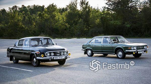 Легковушки Tatra — самые интересные модели