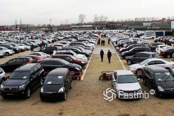 Продажа на автомобильном рынке