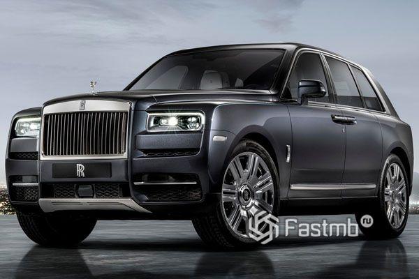 Внедорожинк Rolls-Royce Cullinan 2019