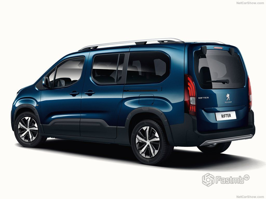 Peugeot Rifter 2019  характеристики 9d3696b9846a6