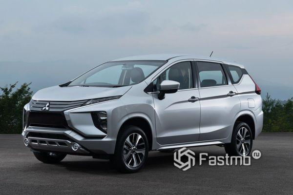 Новый кроссовер-минивэн Mitsubishi Xpander 2019