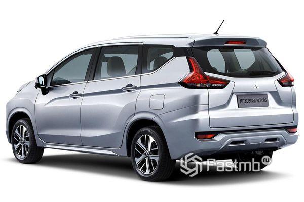 Задняя часть нового Mitsubishi Xpander 2019