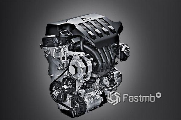 Двигатель нового Mitsubishi Xpander
