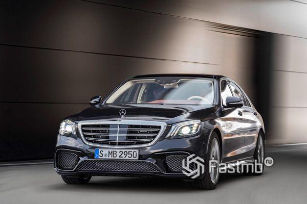 Новый Mercedes-AMG S65 L 2018