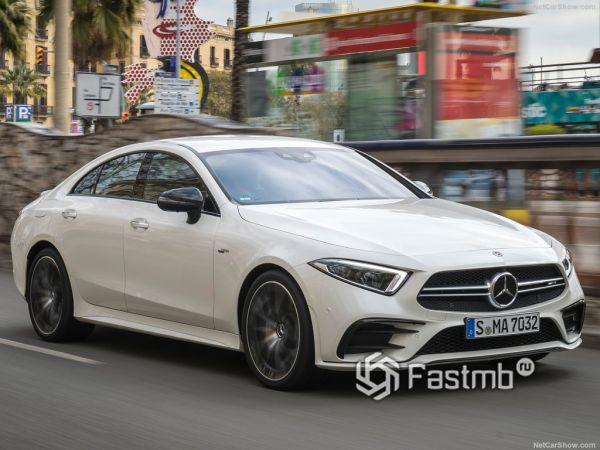 Mercedes-Benz CLS53 AMG 2019: яркий дизайн и необузданный нрав