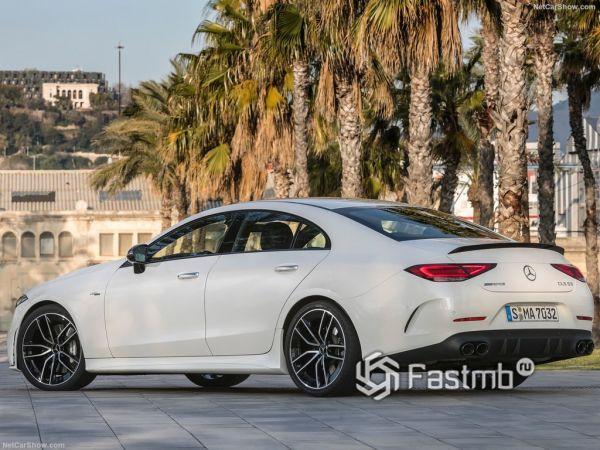 Системы безопасности нового Mercedes-Benz CLS53 AMG