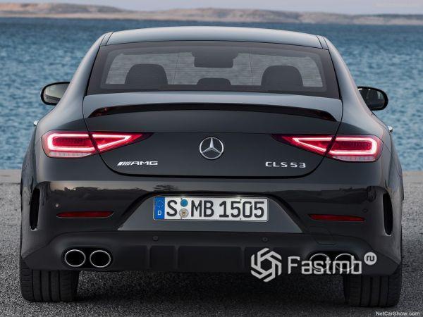 Mercedes-Benz CLS53 AMG 2019, вид сзади