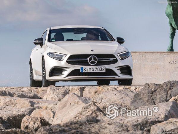Mercedes-Benz CLS53 AMG 2019, вид спереди