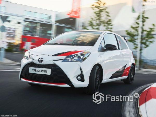 Технические характеристики Toyota Yaris GRMN 2018