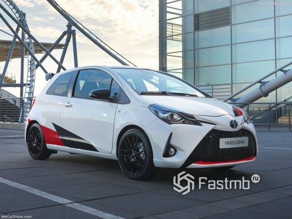 Toyota Yaris GRMN 2018: компактная городская «зажигалка»