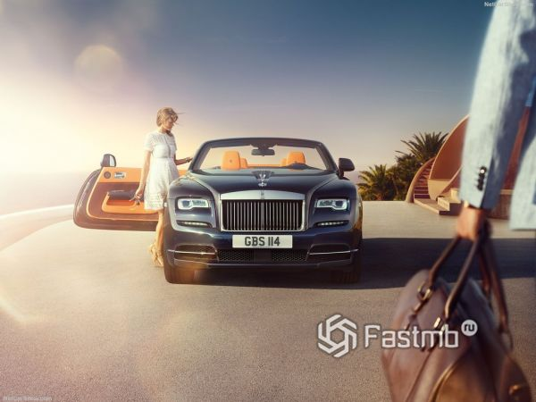 Системы безопасности нового Rolls-Royce Dawn