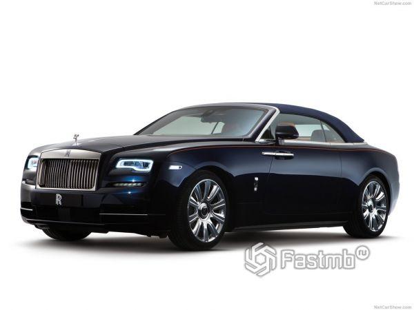 Rolls-Royce Dawn 2017-2018: истинная роскошь и непревзойдённый стиль