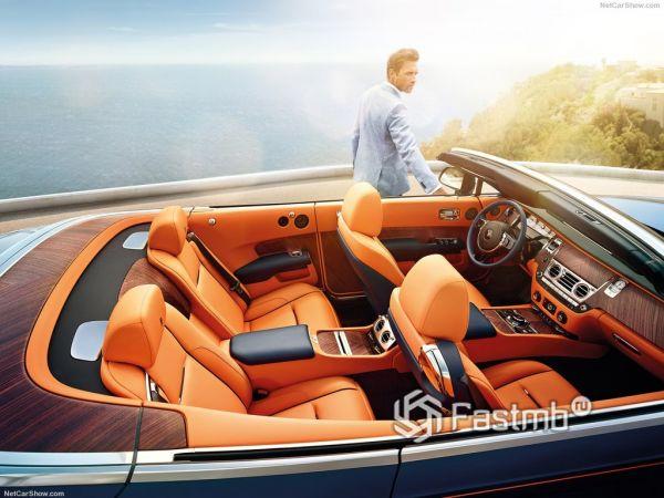 Rolls-Royce Dawn 2017-2018, кресла