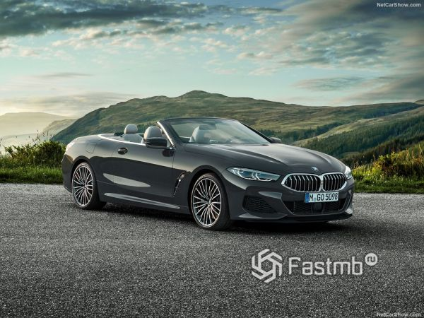 BMW 8-Series Convertible 2019: флагманский кабриолет из Баварии